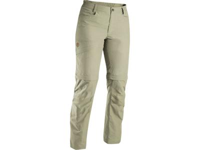 Fjällräven Daloa MT - Zip-off bukser til dame - Beige - Str. 38