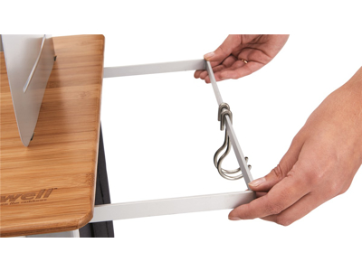 Outwell Padres XL - Foldbar Køkkenbord - Aluminium/Bambus