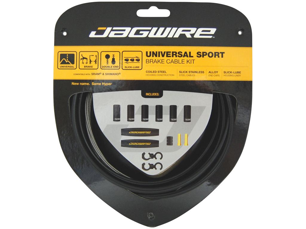 Image of   Jagwire - Universal - Bremsekabel sæt - Passer til MTB og Road - Sort