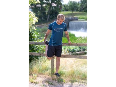 2117 OF SWEDEN Halna - Trail løbeshorts - Sort