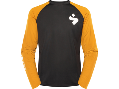 Sweet Protection Hunter LS Jersey - Cykeltrøje L/Æ - Sort/gul