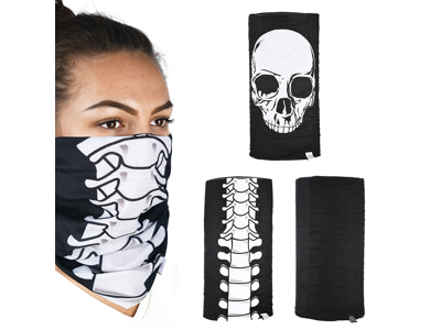 OXC - Halsedisse - 3 stk. pakke - Polyester - One size - Skeleton