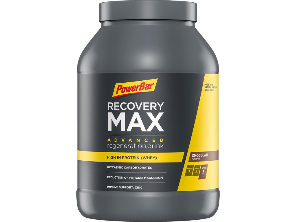Powerbar Recovery Max - Chokolade - 1144g thumbnail