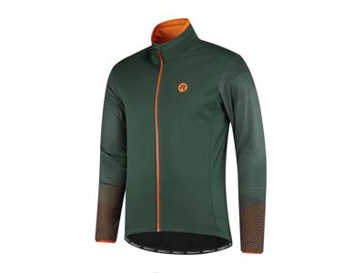Rogelli Wire - Vinterjakke - 0 til 10 grader - Grøn/Orange