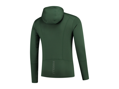 Rogelli Matrix - Sports trøje hooded - Grøn/Gul
