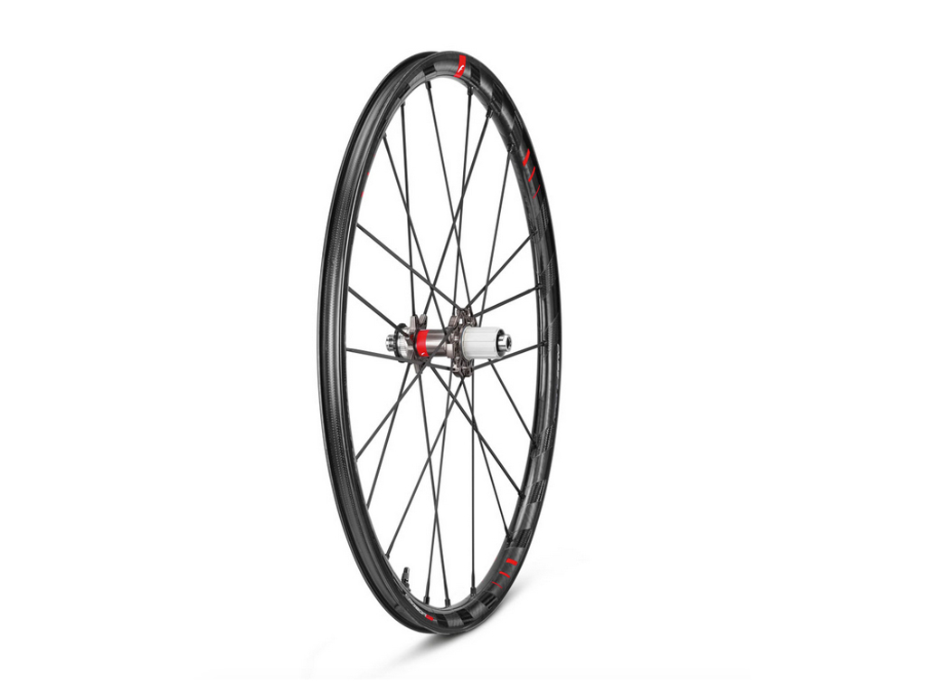 "Fulcrum Racing Zero Carbon DB - Hjulsæt - Road - 28"" - 1450 g. - Disc - Clincher/tubeless thumbnail"