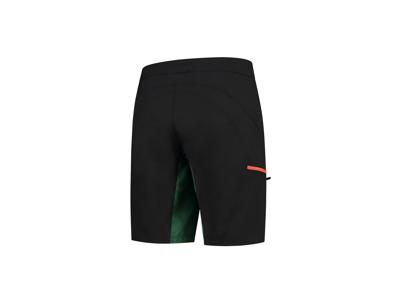 Rogelli Adventure - MTB Cykelbuks - Active pude - Sort/Grøn/Orange
