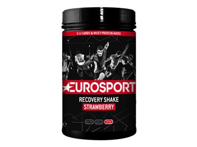 Eurosport Nutrition - Recovery Shake - Jordbær - 450 g