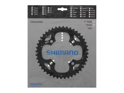 Chainring 44T Deore