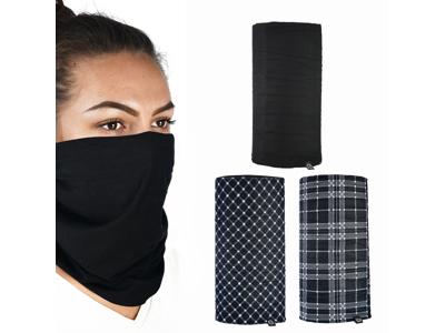 OXC - Halsedisse - 3 stk. pakke - Polyester - One size - Sort hvid tartan