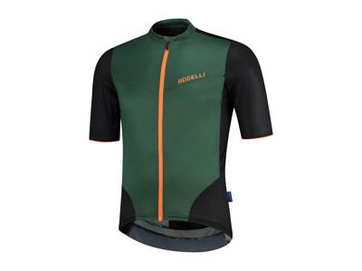 Rogelli Charge - Cykeltrøje - Dynacool Mesh - Grøn/Orange