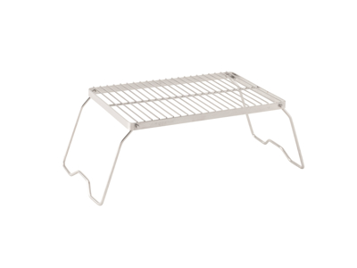 Robens Lassen Grill Trivet Combo S - grill og bålstativ - 34 x 23 x 17 cm - Grå