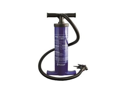 Outwell - 2-vägs pump - Inkl. 3 storlekar munstycken