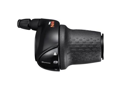 Shimano Nexus - Revo Greb 8 Gear - Sort - inklusiv gearwire med yderkabel - For CJ-8S2