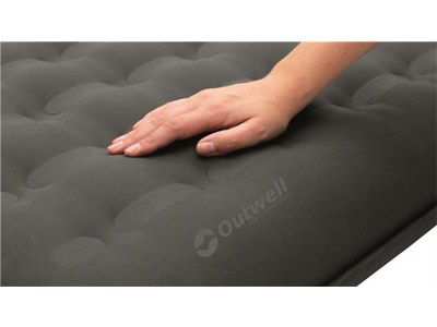 Outwell Flow Airbed Single - Letvægtsmadras - Sort