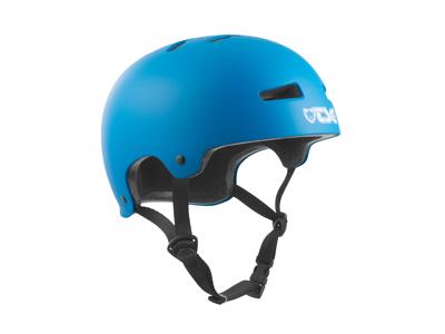 TSG Evolution - Cykel- og skaterhjelm - Satin dark syan
