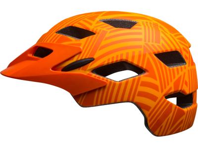 Bell Sidetrack Junior - Cykelhjelm - Str. 50-57 cm - Mat orange