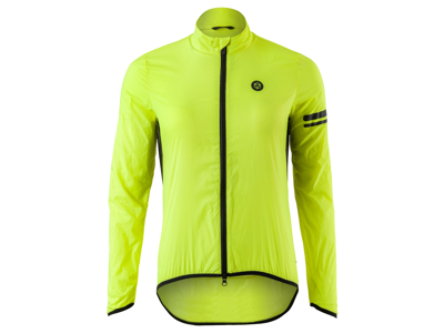 AGU Jacket Essential Wind - Dame Windbreaker - Neongul