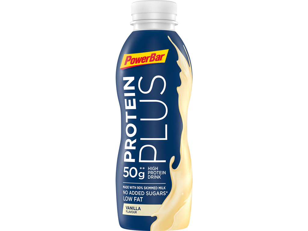 Powerbar - Protein Plus - High Prodein Drink - Vanilje - 500 ml