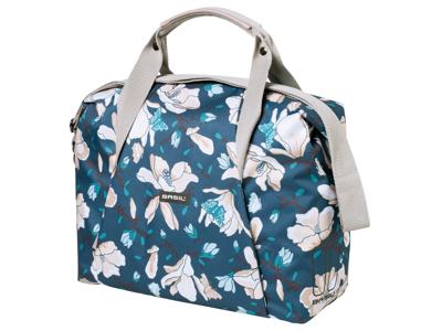 Basil Magnolia Carry All Bag - Skuldertaske - 18 liter - Teal blue