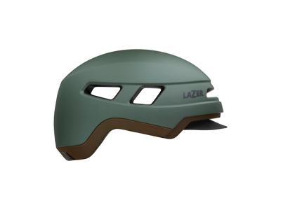 Lazer Cruizer - Cykelhjelm E-bike - Mat mørkegrøn