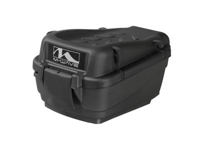 M-Wave Amsterdam Easy Box S-M - Boks til bagagebærer - Hård plast - Sort - Str. 5 liter