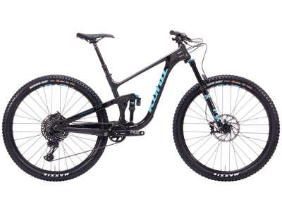 "Kona Process 134 CR - MTB 29"" - Full Suspension - 12 gear - Sort"