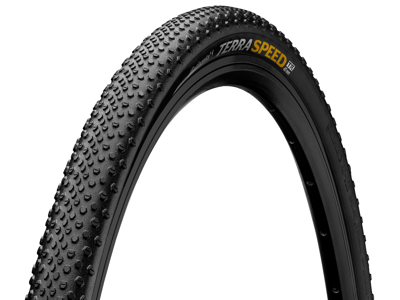 Continental Terra Speed Protection - Gravel Foldedæk - sort/sort - 700 x 40C (40-622)