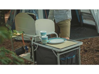 Easy Camp Sarin - Køkkenbord med opbevaring - Foldbar