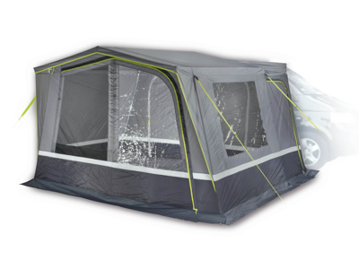 High Peak Tramp 2.0 - 2 personers telt - Grå/lime