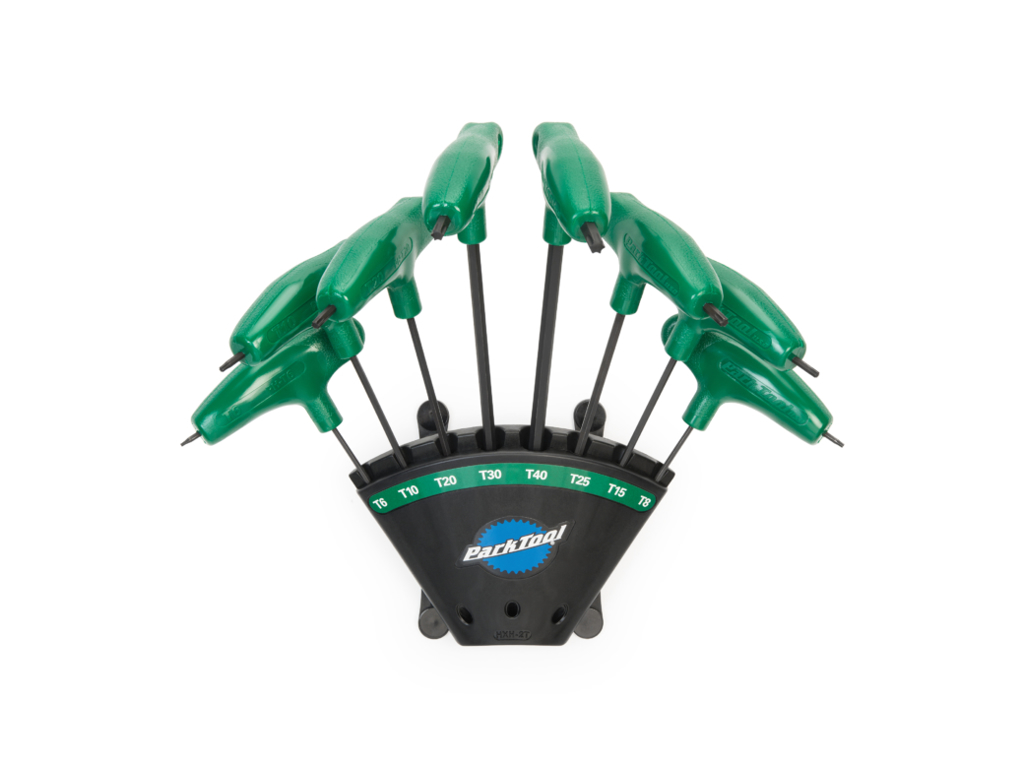 Image of   Park Tool PH-T12 - Torx nøglesæt med vægholder