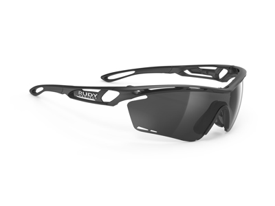 Rudy Project Tralyx - Løbe- og cykelbrille - Smoke black linser - Mat sort