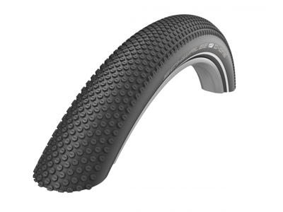Schwalbe G-One Allround - Gravel Foldedæk - 29x2,25 (57-622) Sort Reflex