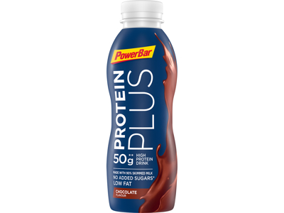 Powerbar - Protein Plus - High Prodein Drink - Chokolade - 500 ml