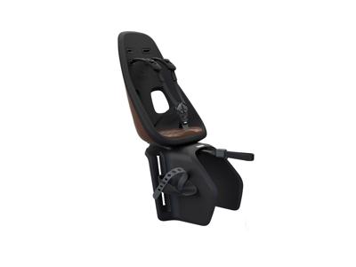 Thule Yepp Nexxt Maxi - Cykelstol med 5-punktssele - Bagagebærermonteret - Sort/brun