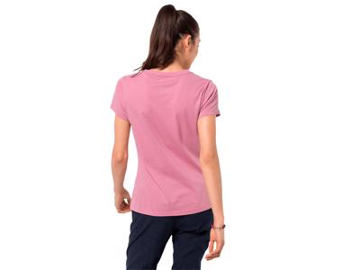Jack Wolfskin At home - T-Shirt Dame - Pink