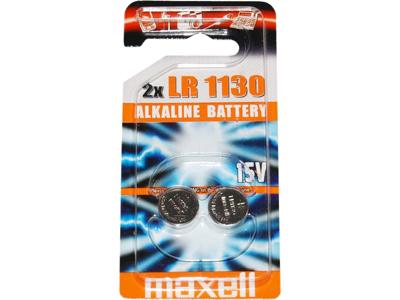 Maxell - Batteri - LR1130 Alkaline 1,5v - 2 stk