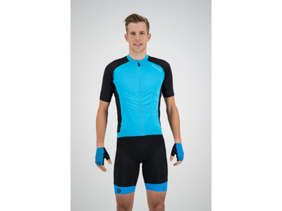 Rogelli Ray - Cykeltrøje - Dynacool Mesh - Sort/Blå