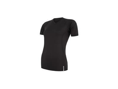 Sensor Coolmax Tech - T-Shirt K/Æ - Dame - Sort