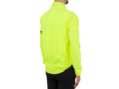 AGU Jacket Essential Rain - Cykelregnjakke - Neon Gul