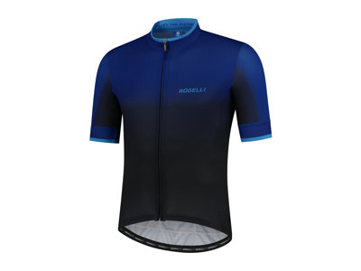 Rogelli Horizon - Cykeltröja - Korta ärmar - Svart / Blå