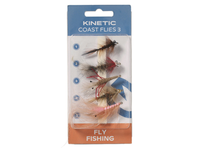 Kinetic Coast Flies 3