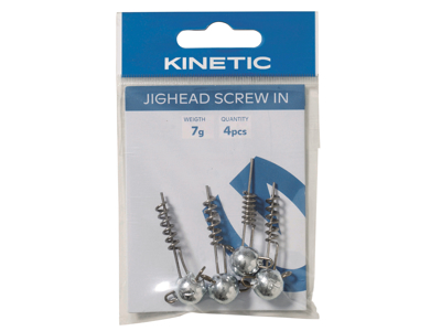 Kinetic Jighead Screw In