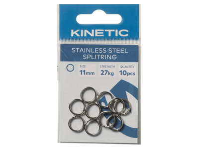 Kinetic Stainless Steel Splitring