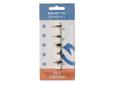 Kinetic Nympf Flies 1 5pcs