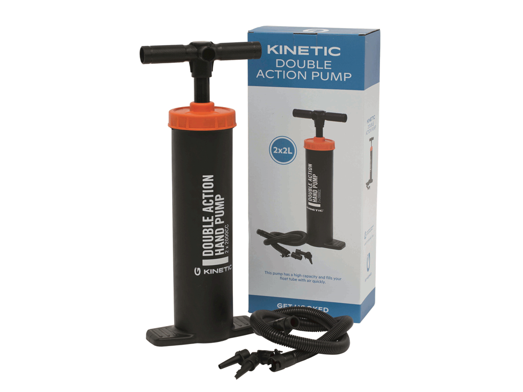 Kinetic Double Action Pump