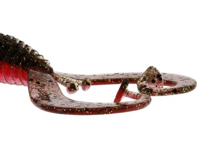 RingCraw Curltail 9cm 6g Motoroil Pepper 5pcs