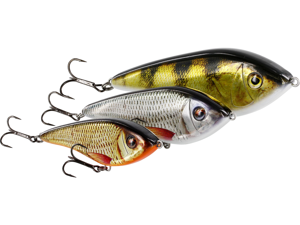 Swim Glidebait 10cm 34g Sinking Crystal Perch