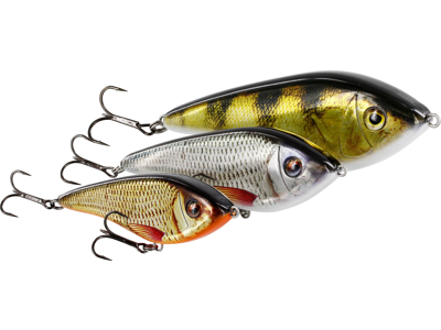 Swim Glidebait 12cm 53g 3D Oliveoil Perch