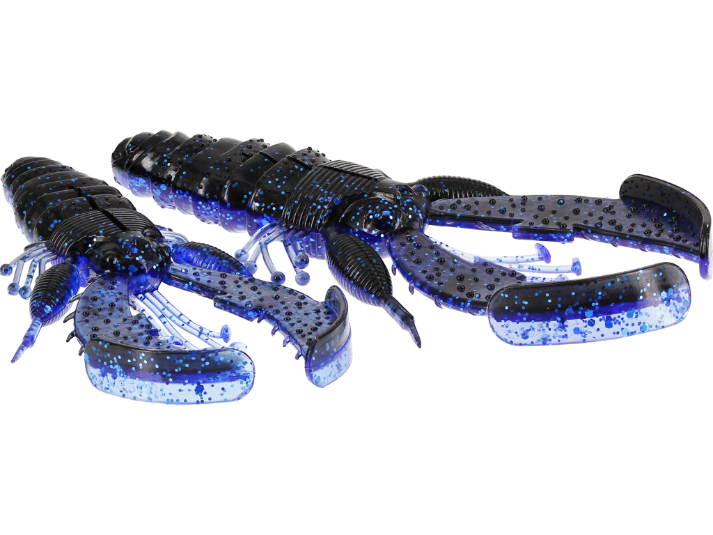 CreCraw Creaturebait 10cm 12g Black/Blue 4pcs